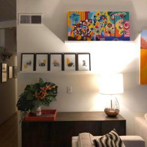 Cinque Opere Roof Diaries nella loro nuova casa inCalifornia