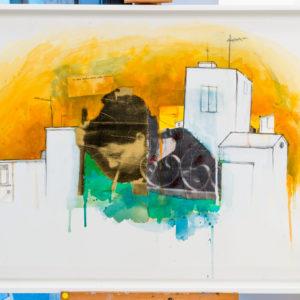 Nick Disaster Art Painting Pittura Arte Contemporary art Visual art Arti Visive artist painter